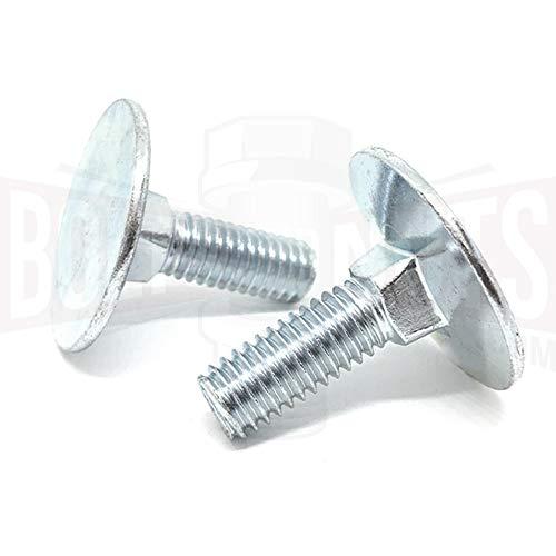 3//8-16 x 2 Elevator Bolts Zinc 100 Pack