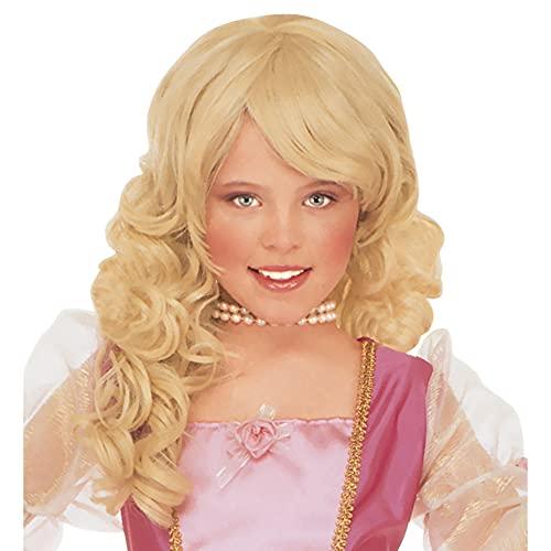 WIDMANN B6291 - Parrucca bionda da Principessa...