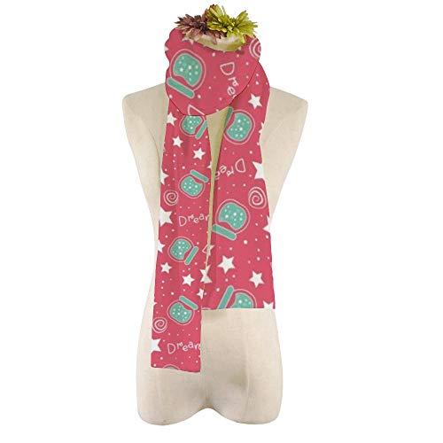 EVEYYWJ DIY Druck Persönlichkeit warmen Schal Schal Traum-Schalen-Himmel-Kinder Herbst und Winter Schals gedruckt Schal-HZWJ-1,21 * 184cm