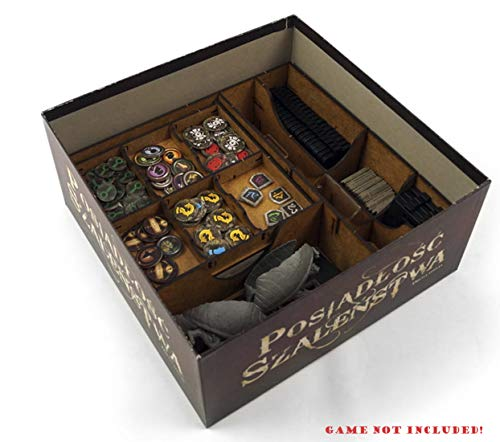 docsmagic.de Organizer Insert for Mansions of Madness: Second Edition Box - Einsatz