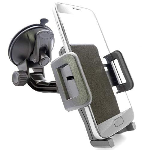 Universal Handyhalterung Autoscheibe Saugnapf Scheibe Auto KFZ Handy Halterung Halter (kompatibel mit Samsung & iPhone) S20 S10 S9 S8 A71 A70 A51 A50 A40 M40 M30 12 11 X XS XR Plus Ultra Max Mini Pro