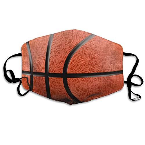 NA Komfortable verstellbare Basketball gemusterte Schwarze Gesichtsdekorationen für Frauen und Männer