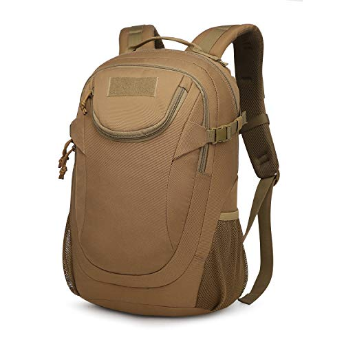 Mardingtop 25L Tactical Backpacks Molle Hiking daypacks for Camping Hiking Military Traveling (M6260-25L-Khaki, 25L)