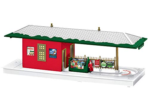 Lionel Christmas, Electric O Gauge Model Train Accessories, Next Stop Santa Passenger Station
