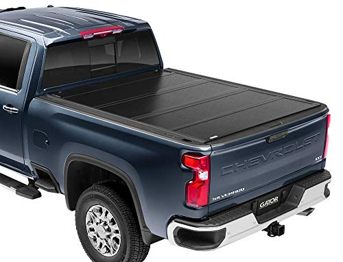 "Gator FX Hard Quad-Fold Truck Bed Tonneau Cover | 8828207 | Fits 2009 - 2018, 2019/2020 Classic Dodge Ram w/out RamBox 5' 7"" Bed 