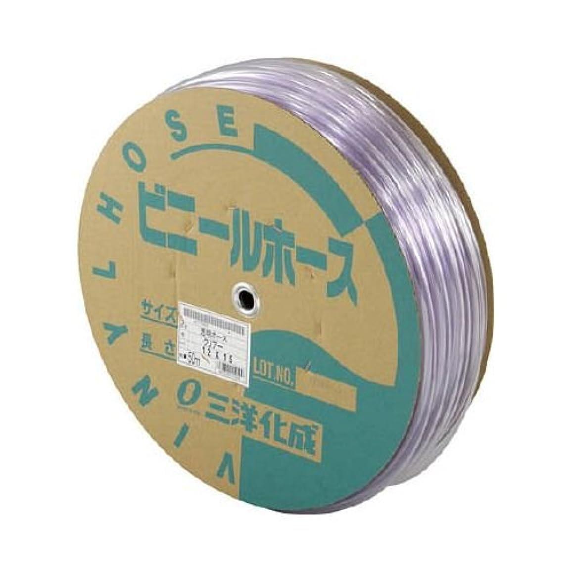 先駆者債権者注文サンヨー 透明ホース12×15 50mドラム巻 TM1215D50T