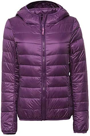 Winter Down Jacket for Women Ultra Light Packable Hooded Jacket for Women product image