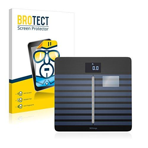 brotect Pellicola Protettiva Compatibile con Withings Body Cardio Pellicola Trasparente (2 Pezzi) Anti-Impronte