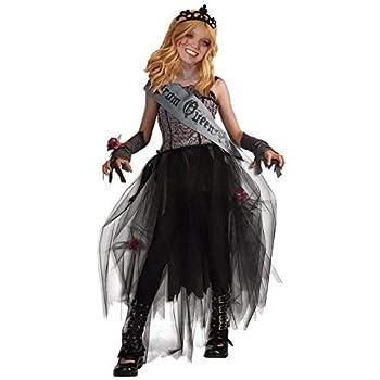 Partilandia Disfraz Zombi Reina del Baile niña Infantil Halloween ...