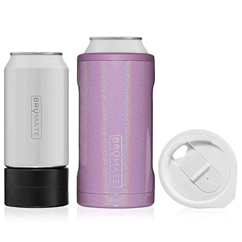 BrüMate HOPSULATOR TRíO 3-in-1 Stainless Steel Insulated Can Cooler, Works With 12...