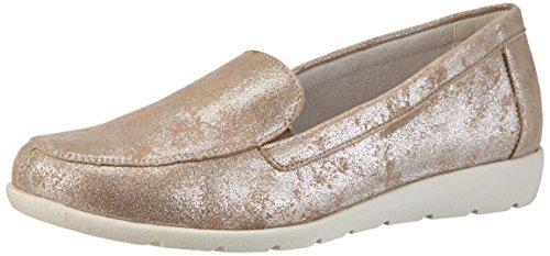 Remonte Damen D1919 Slipper, Silber (beige-silver/60), 39 EU