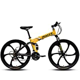 26 Pulgadas Bicicleta De Montaña Specialized Mtb Plegable Engranajes De 24 Velocidades Frenos De...