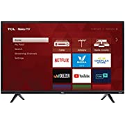 """TCL 32S327-CA 1080p Smart LED Television (2019), 32"""""""
