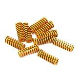 Molle a compressione 3D Molle a compressione M3 Carico a vite M3 per Creality CR-10 10S S4 Ender 3 Ender 3 Pro Fondo letto riscaldato Livellamento a filo - 10pz