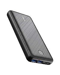 Anker PowerCore Essential 20000 (モバイルバッテリー 超大容量 20000mAh) 【USB-C入力ポート/PSE認証済/PowerIQ/低電流モード搭載】iPhone iPad Android 各種対応 (ブラック)の商品画像