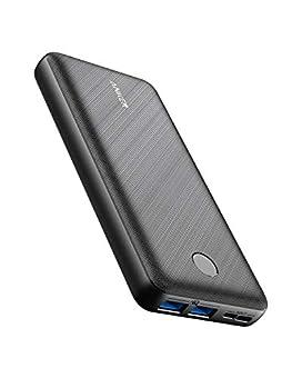 Anker PowerCore Essential 20000 (モバイルバッテリー 超大容量 20000mAh) 【USB-C入力ポート/PSE技術基準適合/PowerIQ/低電流モード搭載】iPhone iPad Android 各種対応 (ブラック)