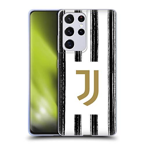 Head Case Designs Offizielle Juventus Football Club Home 2020/21 Match Kit Soft Gel Handyhülle Hülle Huelle kompatibel mit Samsung Galaxy S21 Ultra 5G