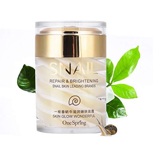 Snail Face Cream Natürliche Sekrete Schleim Extrakt Gesichts Serum Gel für Anti Aging Feuchtigkeitsspendende Falten entfernen reduzieren Sagging Lifting und straffen Hautpflege Lotion