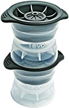 Tovolo Leak-Free, Sphere Ice Molds with Tight Silicone Seal, 2.5 Inch Sphere - Set of 2