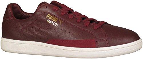 PUMA Men's Match 74 Sneaker, Zinfandel/Whisper White, 9 M US