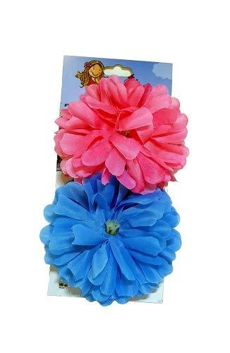 Classic Cycle Lenkerblume Dahlia rosa und blau