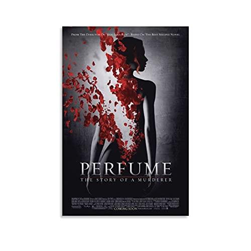 Póster de la historia de un asesino del perfume de Netflix en lienzo y arte de la pared de la impresión moderna de la decoración del dormitorio familiar carteles de 30 x 45 cm