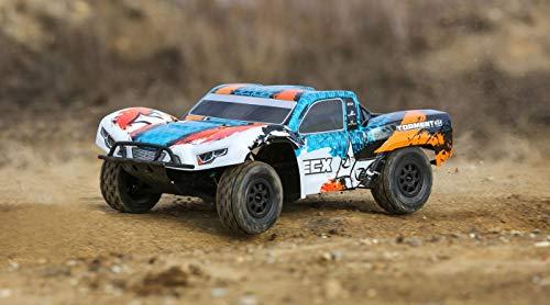 ECX 1/10 Painted Body, Orange/Blue: 4WD Torment