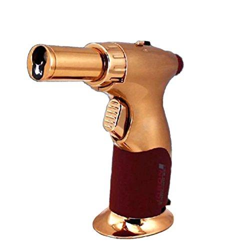 2 Pcs Black Eagle Torch Gun Lighter Adjustable Flame Windproof Butane Refillable