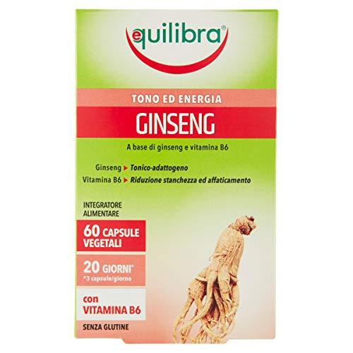 Equilibra Ginseng, 60 Capsule Vegetali