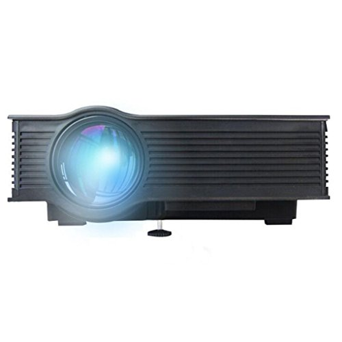 Projector, Lary intel New UC40+ Pro Mini Portable LCD LED Full Color Max 130