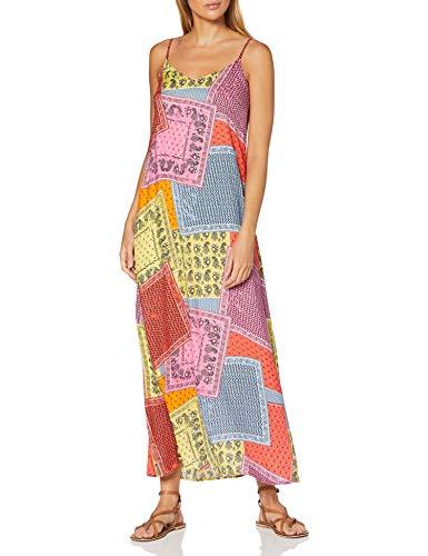 ESPRIT Damen 050EE1E331 Kleid, Orange (648/Coral 4), 36