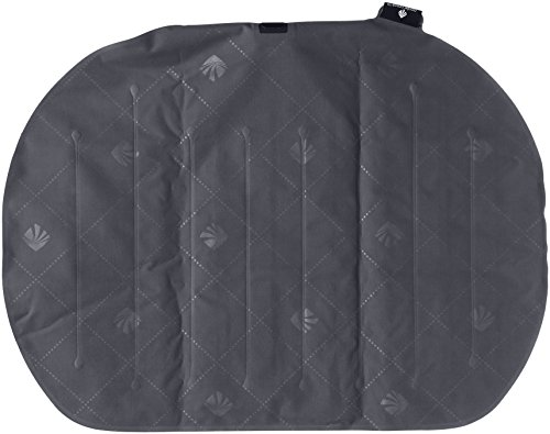 Eagle Creek Fast Inflate Travel Seat Cushion Almohada de Viaje, 44 cm, 0.200 litros, Ebony