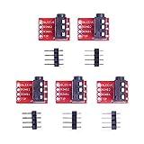 Onyehn TRRS 3.5mm Audio Jack Breakout Headphone Video Audio MP3 Jack Module for Arduino (Pack of 5pcs)