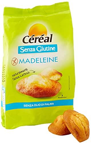 LE ORIGINALI Madeleine Céréal, dolci Senza Glutine e Lattosio, 7 merendine glutenfree Senza Latte...