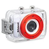 Polaroid XS7 - Videocámara de 5 Mp (pantalla táctil de 2', vídeo HD 720p), blanco - kit de fijación incluido