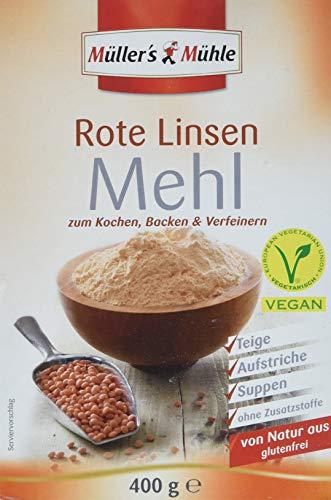 Müller´s Mühle Rote Linsen Mehl (1 x 400 g)