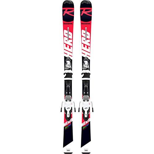 Rossignol Hero 130-150 Xpress Jr 7 B8 Skis Enfants, Fille, RRH01JY, Rouge/Noir, 130 cm