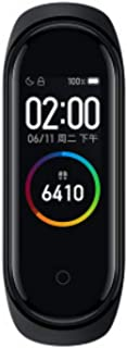 Millet Mi Band 4 Fitness Tracker Latest .95 Inches Color AMOLED Screen Smart Bracelet Heart Rate Monitor Activity Tracker ...