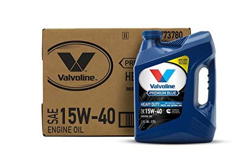 Valvoline Premium Blue SAE 15W-40 Diesel Engine Oil 1 GA, Case of 3