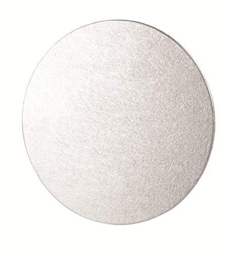 Tala 10A20310 - Base per torta, Rotonda, Argento, 10' (25 cm)