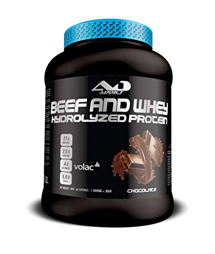 ADDICT SPORT NUTRITION AD - Protein - Beef and Whey Hydrolyzed Protein - 2 Kilos - Flavour Chocolate