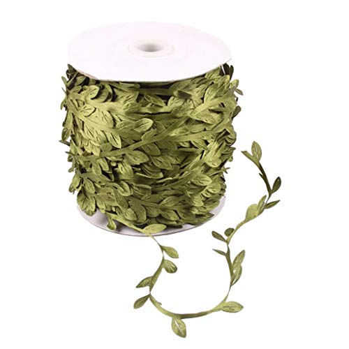 B Baosity 200 Meters Artificial Leaves Rattan Decoration Home Garden Highlights Spring