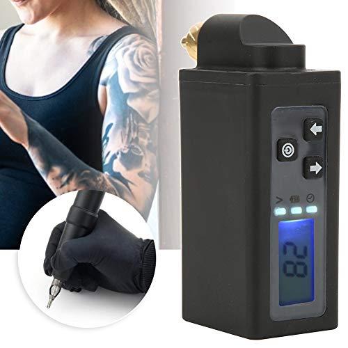 Fuente de alimentación para tatuaje, Fuente de alimentación para tatuaje, Máquina de tatuaje digital Máquina de tatuaje Energía Paquete de batería inalámbrico para banco de energía inalámbrico