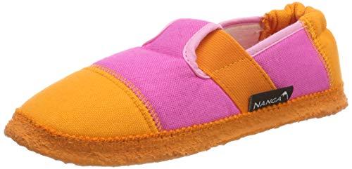Nanga Kinder - Unisex Hausschuhe Klette pink 25