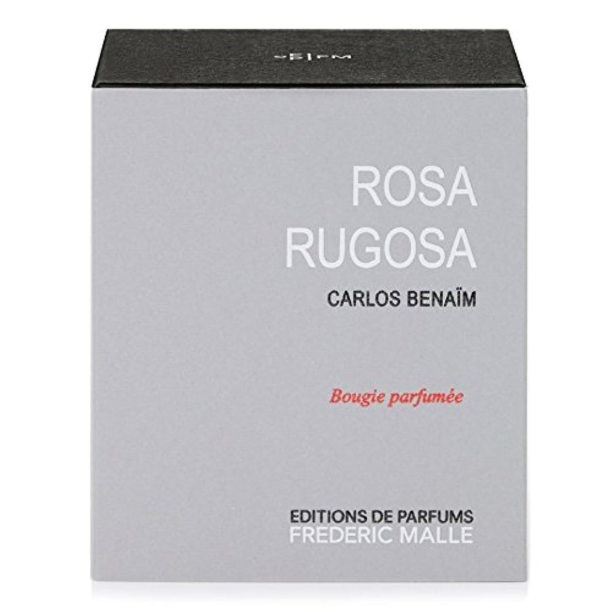 ホールド革命湿地Frederic Malle Rosa Rugosa Scented Candle - フレデリック?マルハマナスの香りのキャンドル [並行輸入品]