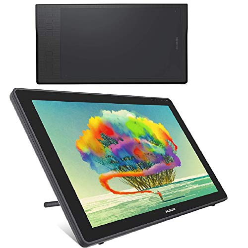 HUION Inspiroy Q11K Wireless Graphic Drawing Tablet and HUION 2020 Kamvas 22 Graphic Drawing Monitor Pen Display