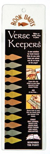 Verse Keeper Book Darts - Line Marker Bookmarks (12 Verse Keepers)