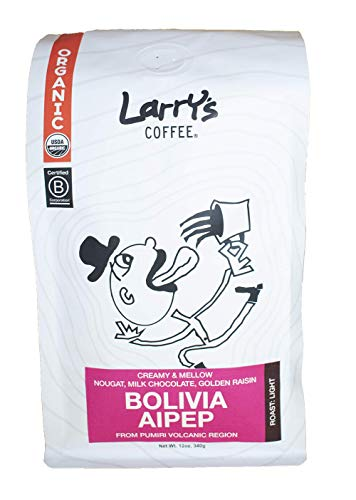Larrys Beans, Coffee Cowbow Bolivia, 12 Ounce