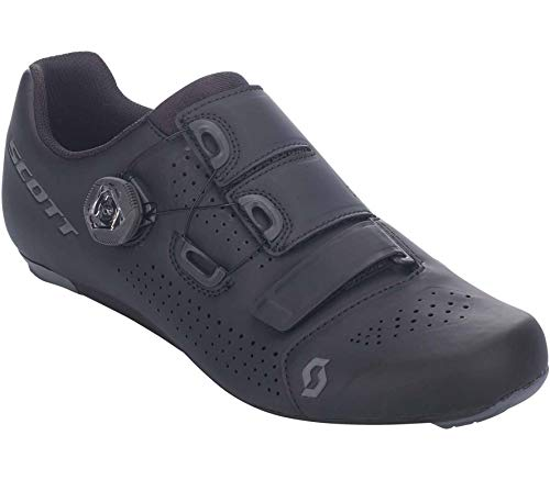 Scott Road Team Boa Rennrad Fahrrad Schuhe schwarz/grau 2021: Größe: 42