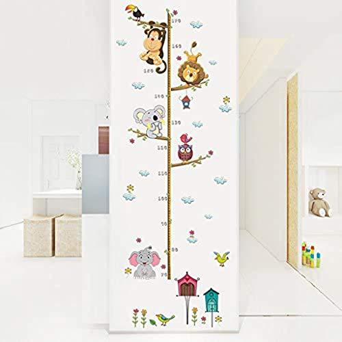 Gaoqi Elefante de Dibujos Animados zoológico Pegatinas de Altura habitación de los niños decoración de la Pared Pared